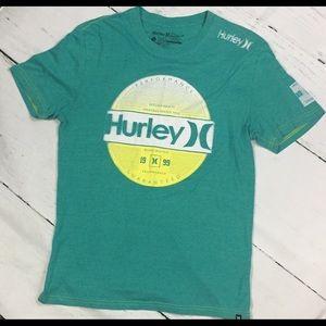 Hurley Buckle Brand Premium Fit Tee Shirt